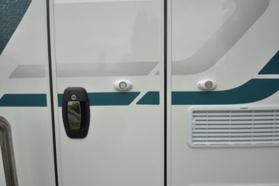 2019 Swift Sprite Super Quattro DB caravan habitation door