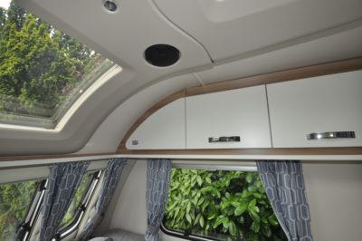 2019 Swift Sprite Super Quattro DB caravan overhead lockers