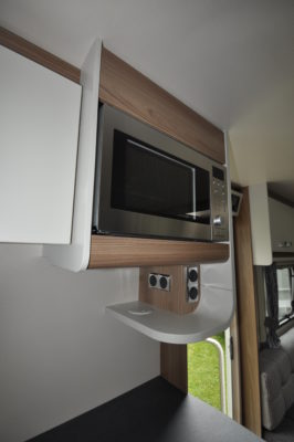 2019 Swift Sprite Super Quattro DB caravan microwave