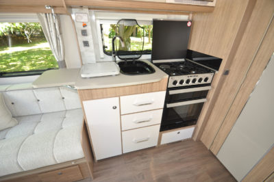 2019 Coachman Laser 650 caravan kitchen