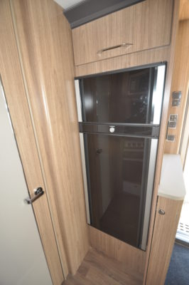 2019 Coachman Laser 650 caravan fridge freezer