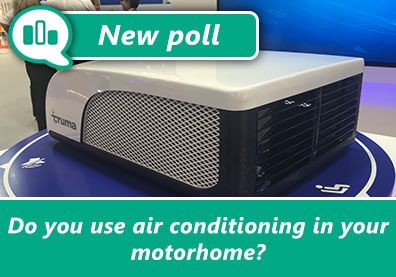 Poll: Do you use air conditioning in your motorhome? thumbnail