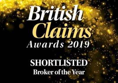 British Claims Awards finalist