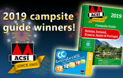 ACSI Campsite guide winners thumbnail