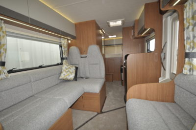 2019 Auto-Trail Tribute 736G motorhome lounge