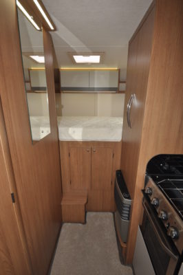 2019 Auto-Trail Tribute 736G motorhome bedroom access