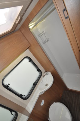 2019 Auto-Trail Tribute 736G motorhome washroom