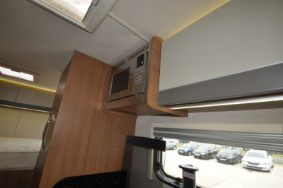 2019 Auto-Trail Tribute 736G motorhome kitchen