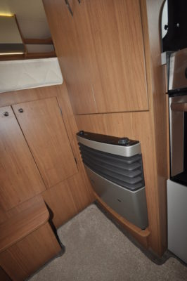 2019 Auto-Trail Tribute 736G motorhome garage hatch