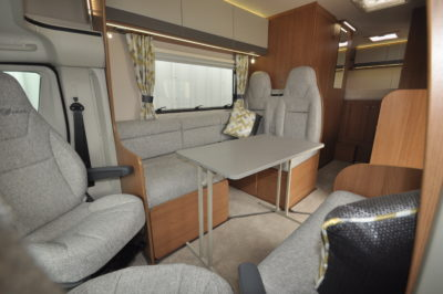 2019 Auto-Trail Tribute 736G motorhome dining area