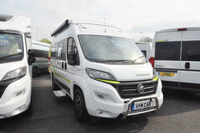 2019 HymerCar Ayers Rock Crossover campervan