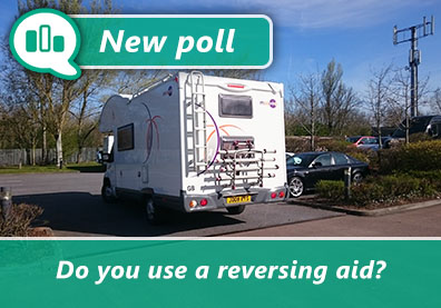 Poll: Do you use a motorhome reversing aid? thumbnail