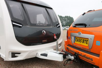 Avoid jack-knifing when reversing your caravan