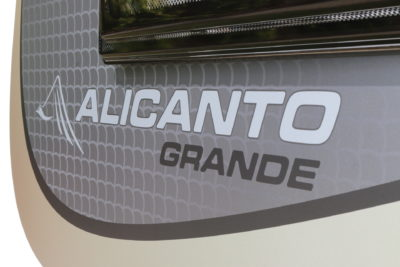 New Bailey Alicanto Grande caravan range thumbnail