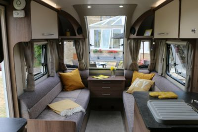 Bailey Phoenix 760 interior looking forward