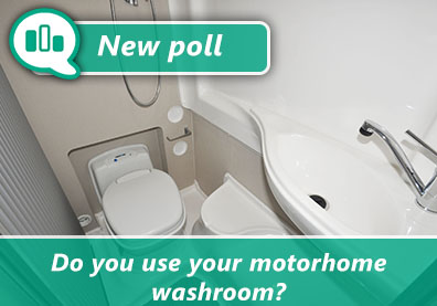 Poll: Do you use your motorhome washroom? thumbnail