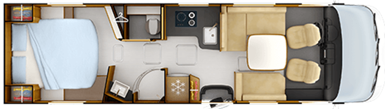 Rapido Distinction i1090 floor plan