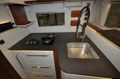 Rapido Distinction i1090 kitchen
