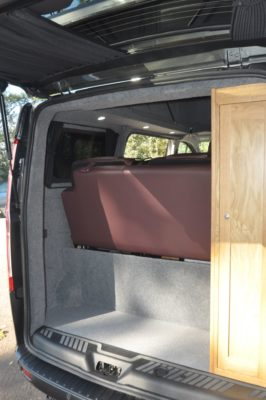 Rolling Homes Kingsley Campervan Rear Storage