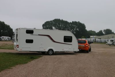 Turning whilst reversing your caravan
