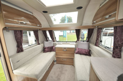 2020 Swift Challenger X 835 caravan lounge