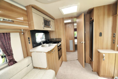 2020 Swift Challenger X 835 caravan interior