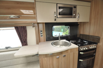 2020 Swift Challenger X 835 caravan kitchen