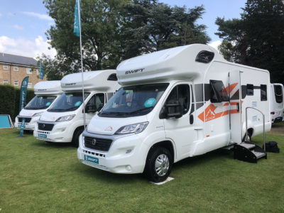 2020 Swift Edge motorhome range