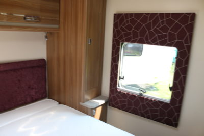 2020 Swift Challenger X 835 caravan padded windows