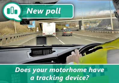 Does your motorhome have a tracking device? thumbnail