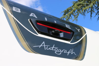 2020 Bailey Autograph reversing camera