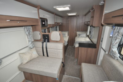Bailey Advance 764T interior