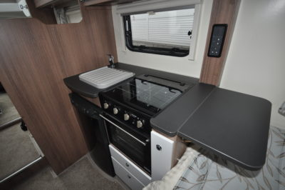 Bailey Advance 764T kitchen