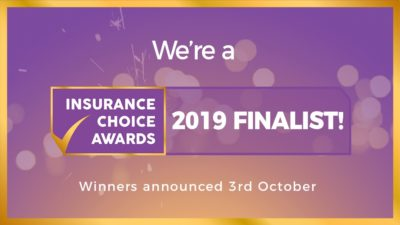 We're an Insurance Choice Awards 2019 finalist! thumbnail