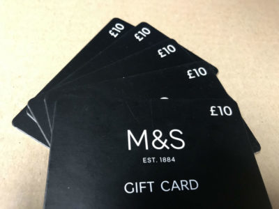 Folding camper claimant wins £50 of M&S vouchers thumbnail