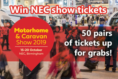 Win tickets to the Motorhome and Caravan Show 2019 thumbnail