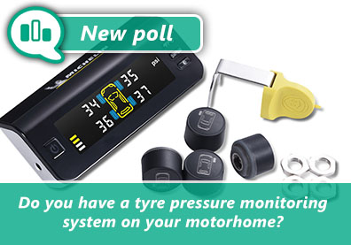 Poll: Do you have a tyre pressure monitoring system on your motorhome? thumbnail