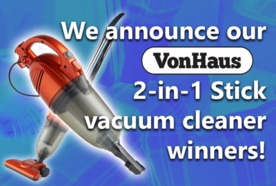 VonHaus vacuum cleaner winners… thumbnail