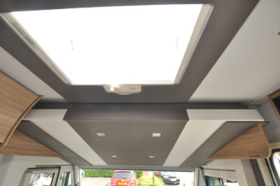 2020 Adria Sonic Axess 600 SL motorhome pull down bed