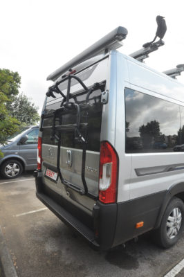 2020 Auto-Sleeper Fairford Plus motorhome bike rack