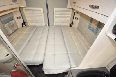 2020 Auto-Sleeper Fairford Plus motorhome bed