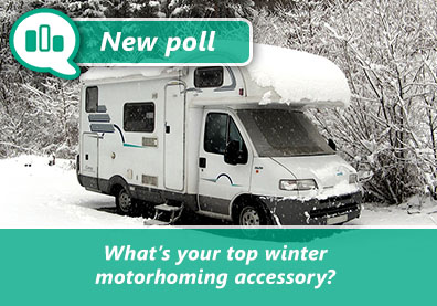 What's your top winter motorhoming accessory? thumbnail