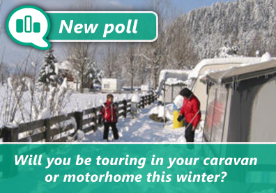 Poll: Will you be touring in your caravan or motorhome this winter? thumbnail