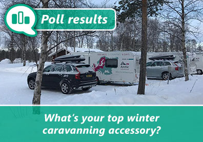 Caravanners vote for their top winter accessory thumbnail
